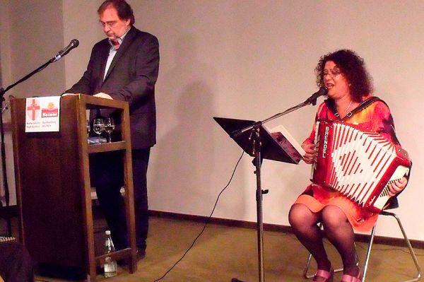 2011 – Buchvorstellung Mirjam Ghettokind mit Odelia Lazar
