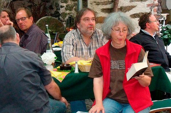 2012 – Literarische Wanderung mit Dorothee Mendner und Gästen